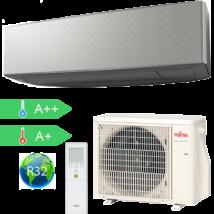 FUJITSU ASYG12KETA-B/AOYG12KETA DESIGN 2020 Ezüst Oldalfali klímaberendezés