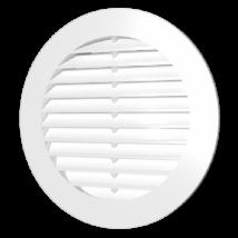 15RK grey Kerek műanyag szellőzőrács D150mm Szürke