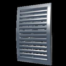 1515RRN grey szellőzőrács csőcsatlakozó nélkül 150x150 mm SZÜRKE