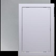 L2020 grey metal Műanyag szerelőablak, 168X168 mm Metál szürke