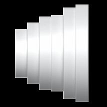 PU16.15.12,5.12.10.8 Lépcsős szűkítő idom