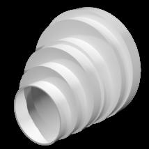 PU16.15.12,5.12.10.8 Excentrikus lépcsős szűkítő idom
