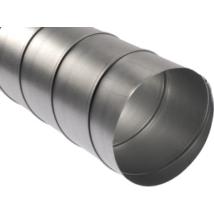 SK120 Spirálkorcolt rozsdamentes cső D120 mm 1-5 fm