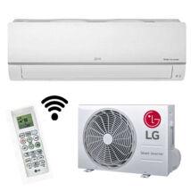 LG PC09SQ Silence Plus inverteres oldalfali monosplit klíma szett gyári wifi R32 2,5KW