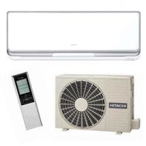 Hitachi Premium RAK 25 PSC/ RAC 25 WSC inverteres oldalfali monosplit klíma R32 2,5KW