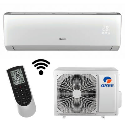 Gree GWH09QB-K6DND6I Lomo Plusz inverteres oldalfali split klíma wifi 2,6 KW