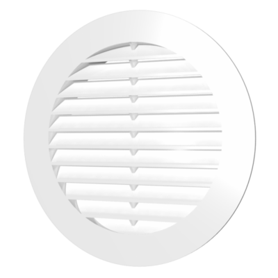 10RK Kerek műanyag szellőzőrács D100mm