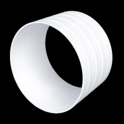 10SK Csőcsatlakozó flexibilis csatornákhoz D100 mm