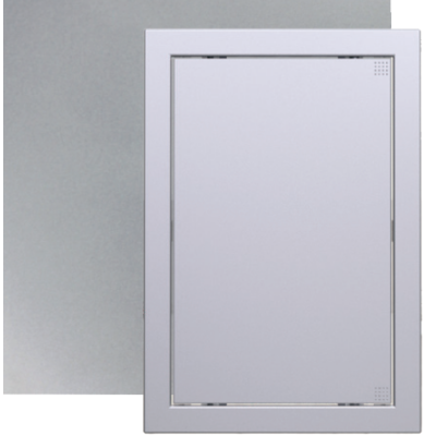 L1515 grey metal Műanyag szerelőablak, 168X168 mm Metál szürke