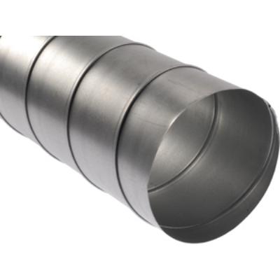 SK125 Spirálkorcolt rozsdamentes cső D125 mm 1-5 fm