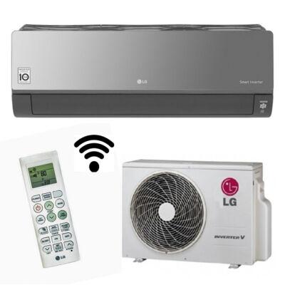 LG ArtCool AC09BQ Smart inverteres oldalfali klíma R32
