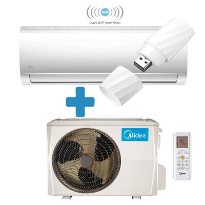 Midea Blanc MA-24N8D0-SP oldalfali Inverteres split klíma szett wifi 7,1KW R32