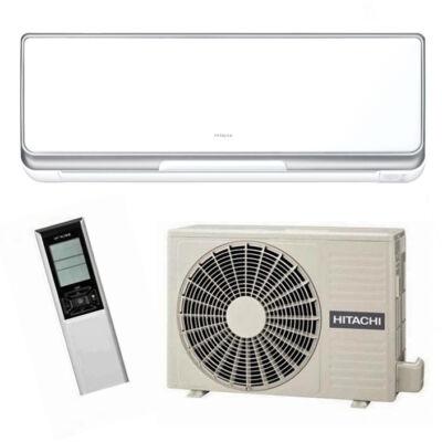 Hitachi Premium RAK 25 PSC/ RAC 25 WSC inverteres oldalfali klíma